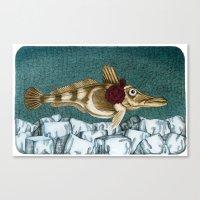 The Ice Fish Cometh Canvas Print