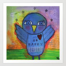 So Happy Together Art Print