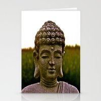 A Peaceful Mind, Makes a Happy Heart Stationery Cards