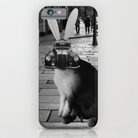 iPhone & iPod Case featuring rabbit by Panic Junkie