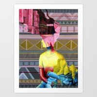 Humans Art Print