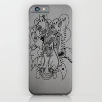 iPhone & iPod Case featuring feline by Dan Feit