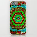 Crazy pattern machine iPhone & iPod Case
