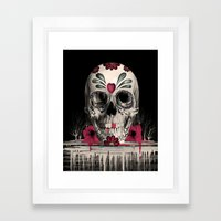 Pulled Sugar Framed Art Print
