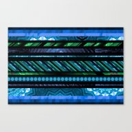 How Busy Are You? (blue-… Canvas Print