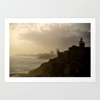 Puerto Rico From Old To … Art Print