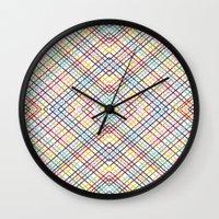 Weave 45 Mirror Wall Clock