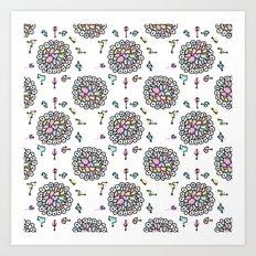 Mandala Starseed Symbols Art Print