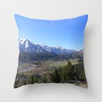 Sonora Pass Throw Pillow