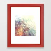 A Natural Montage Framed Art Print