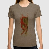 Autumnal 1 Womens Fitted Tee Tri-Coffee SMALL