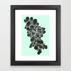 Trippy Waves Framed Art Print