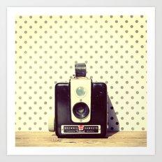 Vintage Camera Love: Kodak Hawkeye Flash! Art Print