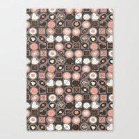 Box Of Chocolates Canvas Print