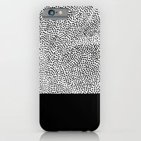 Dots And Black iPhone 6 Slim Case