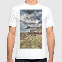 Ireland Calls Mens Fitted Tee White SMALL