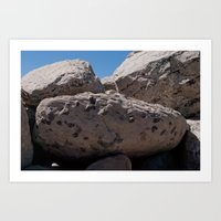 Salt Lake Scenery V Art Print
