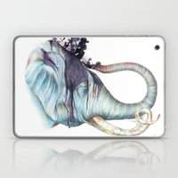 Elephant Shower Laptop & iPad Skin