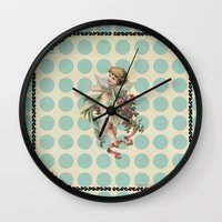 Sweet Angel Wall Clock