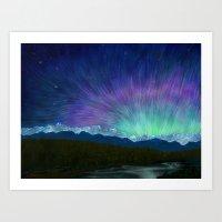 Arctic Aura - Painting Art Print