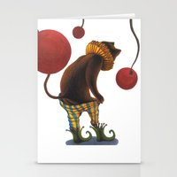 DEPRESSED CAT Stationery Cards