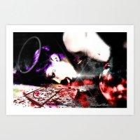 Dream Of Chains 2 Art Print