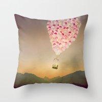 NEVER STOP EXPLORING V Throw Pillow