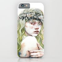 iPhone & iPod Case featuring Time That Left Us Behind by Veronika Weroni Vajdová