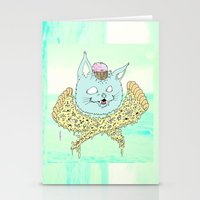 PIZZACAT I Stationery Cards