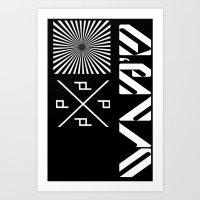 MINIMA 2  Art Print