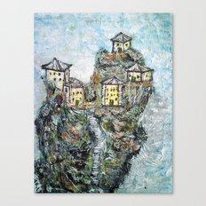 HIMALAYAN VILLAGE2 Canvas Print