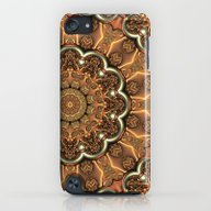 iPhone & iPod Case featuring Molten Copper Mandala by Lyle Hatch