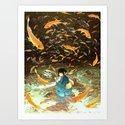 HANABI Art Print
