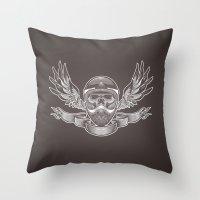 Rider Throw Pillow