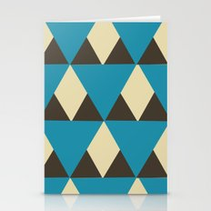 triangle zoom Stationery Cards