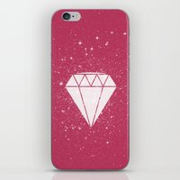 Space Diamond  iPhone & iPod Skin