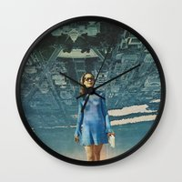 Amy White House Wall Clock