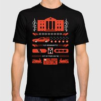 1.21 Stitches Mens Fitted Tee Black SMALL