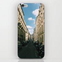 Spring In Paris - Le Mar… iPhone & iPod Skin