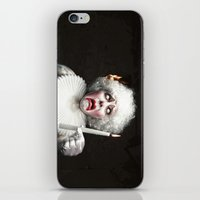 Clown VS Fire iPhone & iPod Skin