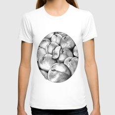 asc 628 - Les pêches de l'empereur (More juicy fruits) Womens Fitted Tee White SMALL