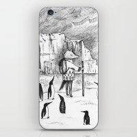 Antarctic explorer iPhone & iPod Skin