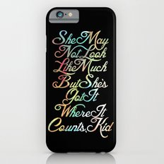 Star Wars Han Solo Millennium Falcon Quote iPhone 6 Slim Case