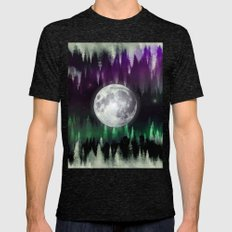 Dreaming Under The North… Mens Fitted Tee Tri-Black SMALL