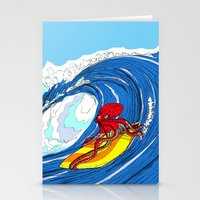 octosurfer Stationery Cards
