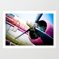 C160 Military Transport Airplane Art Print
