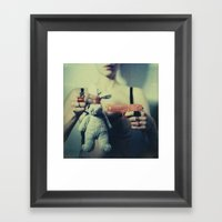 The Bunny Framed Art Print