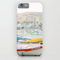 iPhone & iPod Case featuring La Ciotat - Boats by Blanc Coco Photographe