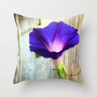 Morning Queen Throw Pillow