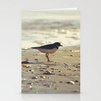 Evening Beside the Sea Stationery Cards